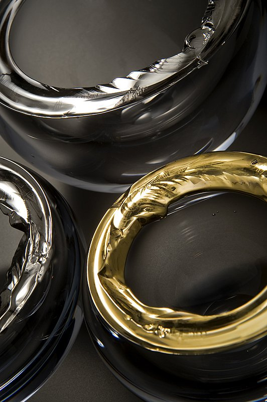 Cracked Rim Platinum & Gold Series
